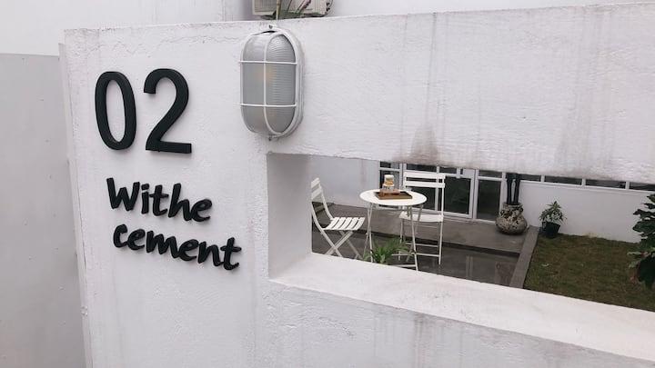 单意空间艺术民宿-White Cement特价无早