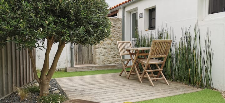 Agréable studio avec terrasse