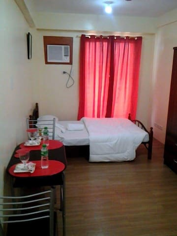 Privately feel relaxing in a quiet and safe place! - Ciutat Quezon - Apartament