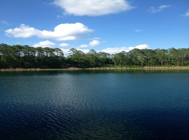 Private Blue Lake Cottage Near G'Ville FL - Hawthorne - Cabaña