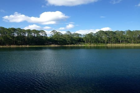 Private Blue Lake Cottage Near G'Ville FL - Hawthorne - Cabin