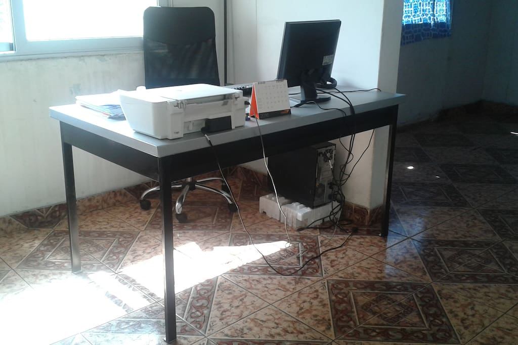 Office: Computer, Internet and Printer