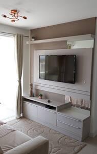Apartamento novo, decorado com vista espetacular!
