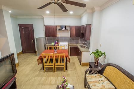 Family (2 bedrooms) with kitchen and living room - Pis