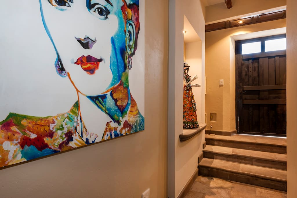 Grand entry way to your unit
