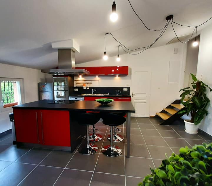 Appartement, Loft aux portes de Toulouse.