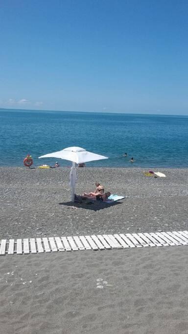 пляж Огонек