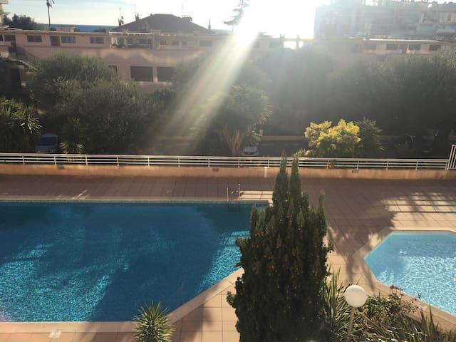 80 sqm with pool towards the sea - Roquebrune-Cap-Martin - Condominio