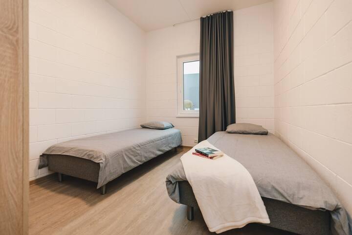 Privaatne tuba korterist, kuni kahele inimesele