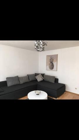 Wohnzimmer zu leben