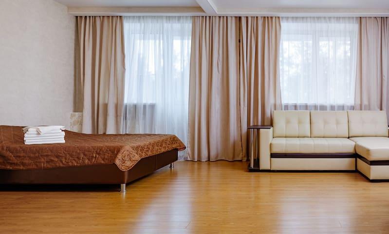 Апартаменты-студио на подмосковном курорте Яхонты