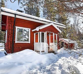 Loftet i skogen - Järpen - Blockhütte