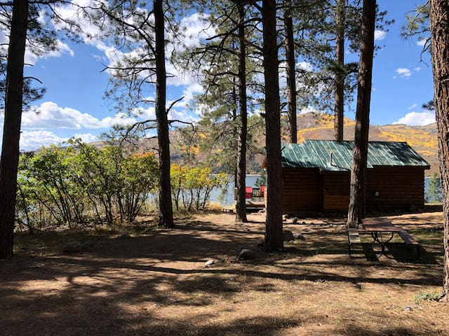 """""""On the Quiet Side"""" of Vallecito Lake"""