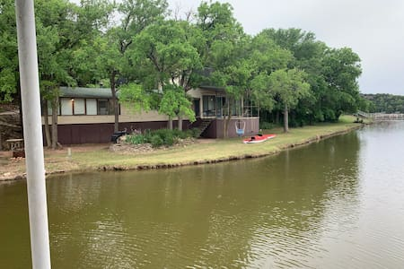 Secluded, Riverfront cabin