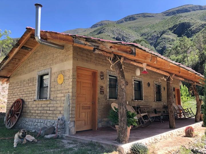 Cabaña en Viñedo, El Álamo, Santiago, N.L.