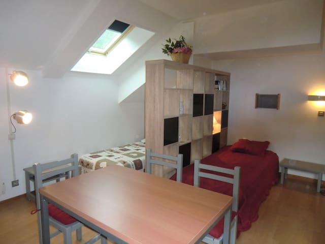 GRAND STUDIO 36 M2 - PARKING - WIFI - Brides-les-Bains - Apartment