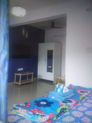 Blue Goan Apartment in Baga/Calangute