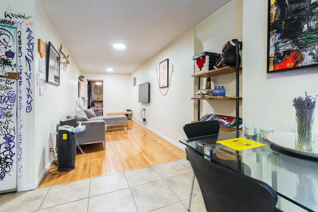 Large spacious room to unwind after a long day shopping and sightseeing