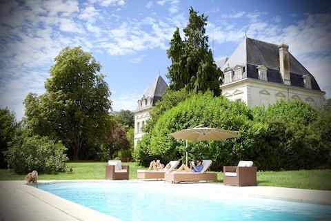 Chateau Fengari near Bordeaux and St Emilion