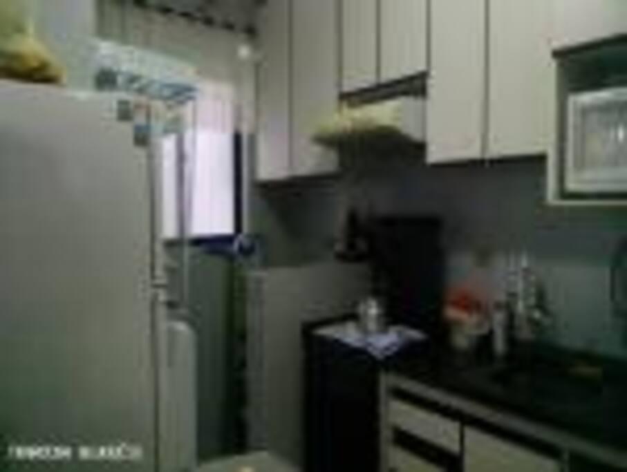 Cozinha e Área Serviço