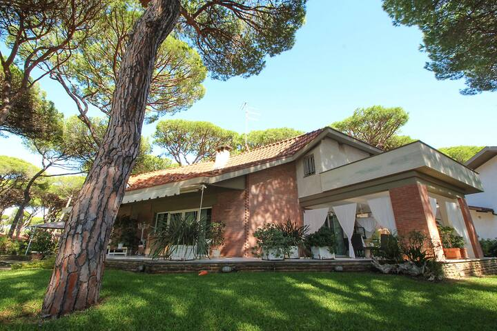 Elegant villa with large garden - 300 m to the sea