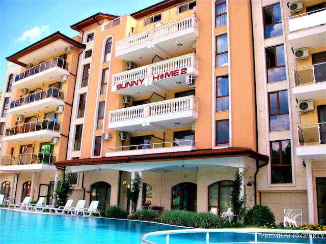 Apartment in Sunny Beach resort, Bulgaria
