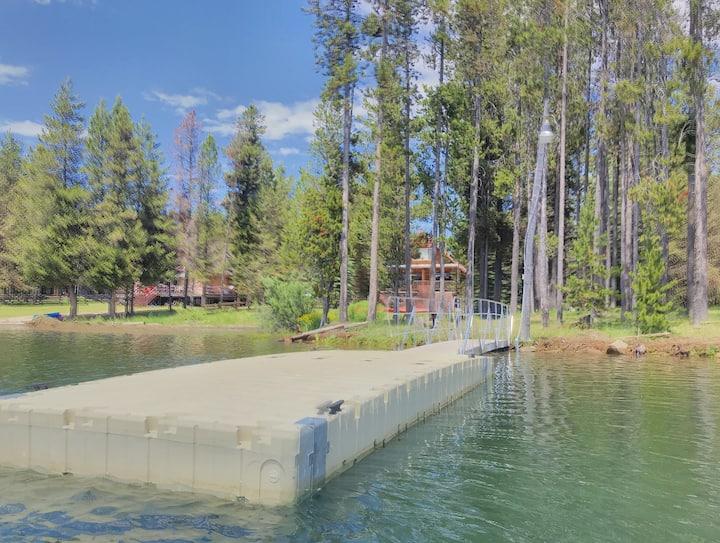 Waterfront Log Cabin