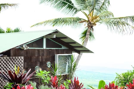 Kealakekua Bay Cottage With A View! - 캡틴 쿡 - 통나무집