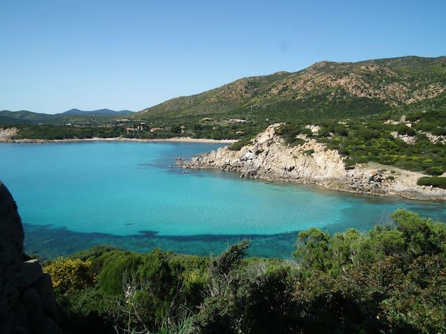 Casa vacanze a Capo Blu con piscina condominiale