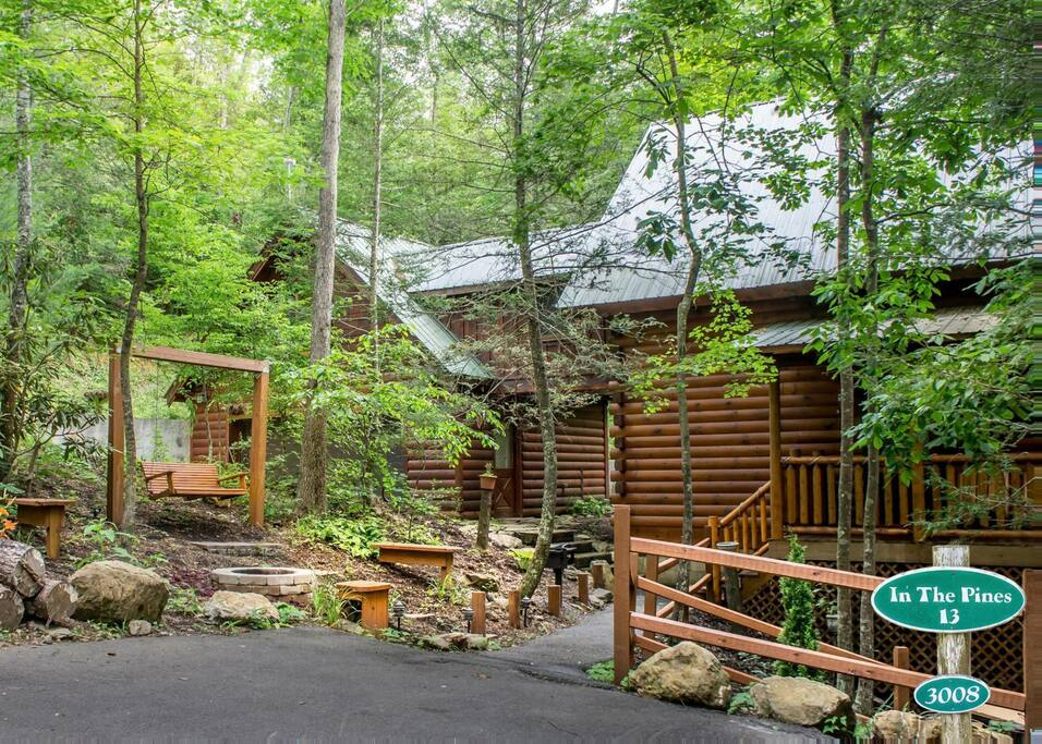 In The Pines 13 Cabins For Rent In Sevierville