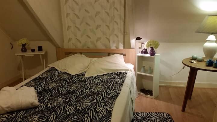 Un chambre à louer à coté de Chartres.