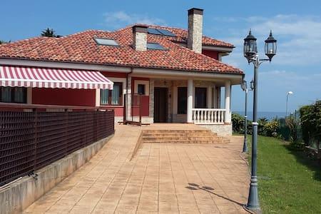 Preciosa casa vistas a la playa Espasa y al Sueve - Chalet