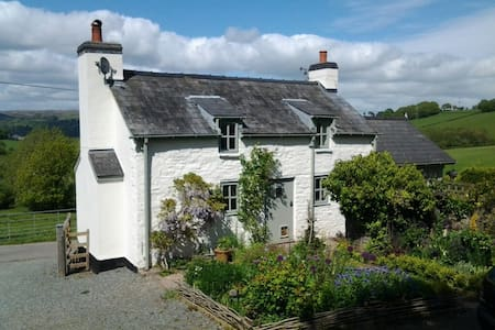 Peace & Quiet in Country Cottage near Hay on Wye - Crickadarn - Rumah