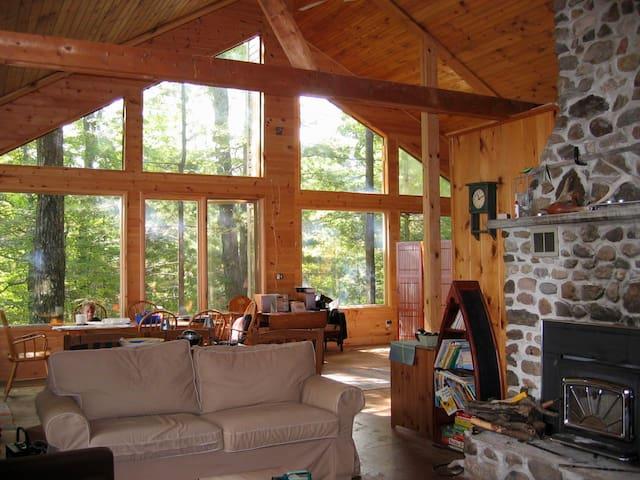 Wolfe Lake Solitude - Westport - Blockhütte