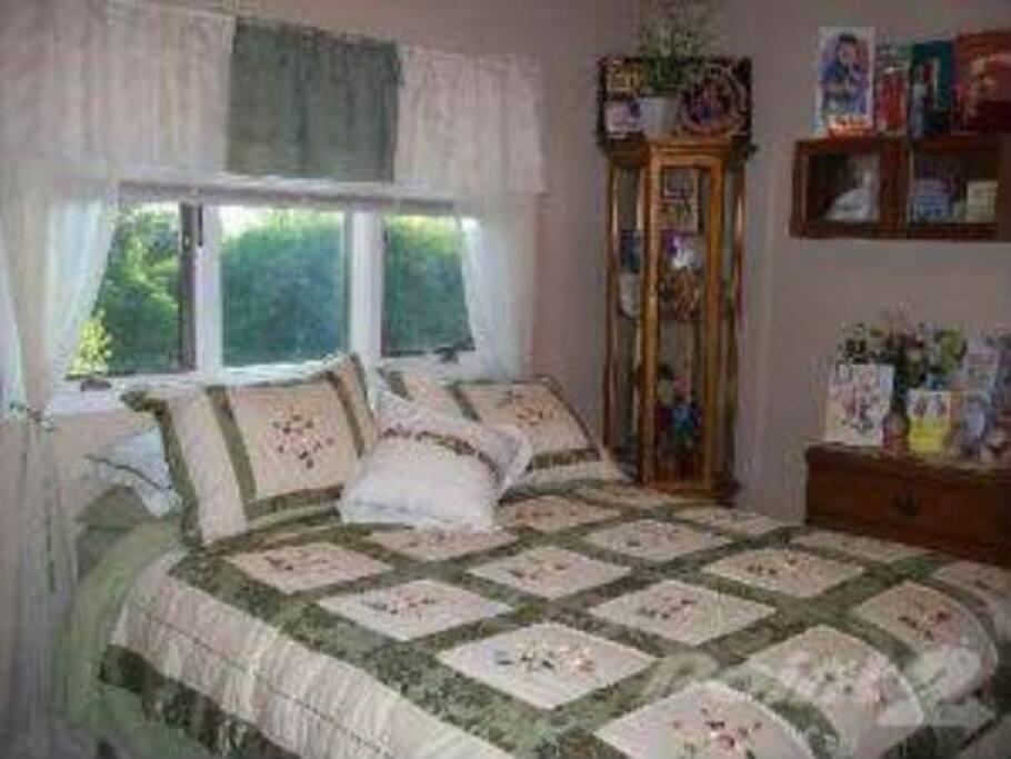 Cozy Queen Bed
