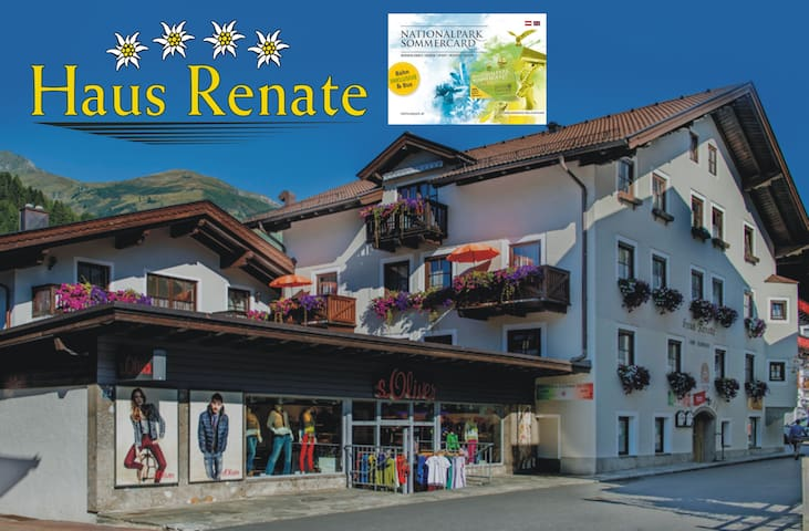 ****Appartementhaus Renate1 incl Nationalparkcard
