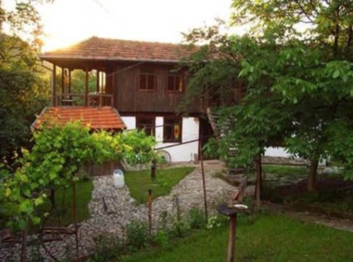 Rustic Eco Lodge in the Bulgarian mountains