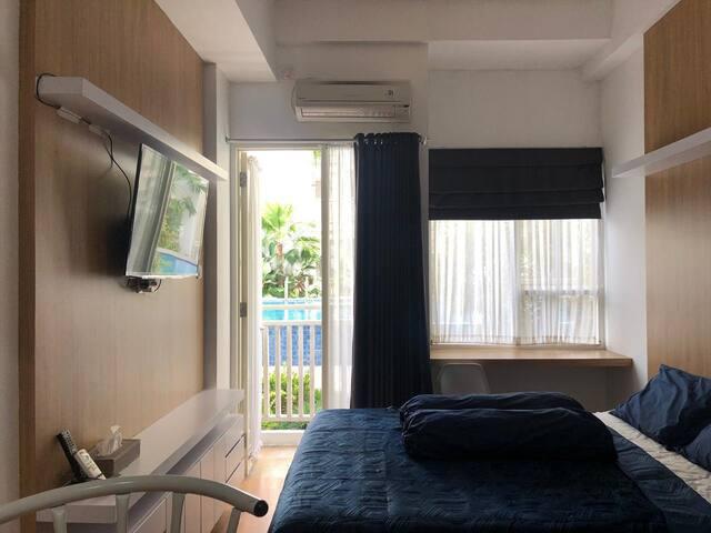 Golom 11 Room(Pool Access)Malioboro City Apartment