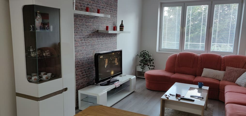 Modern, clean flat near the city centre for 2