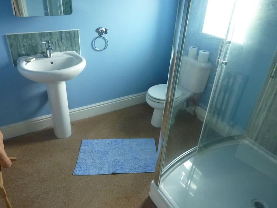 Modern en-suite shower rooms
