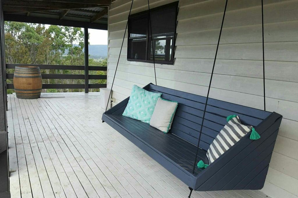Relax on the wrap around veranda with a wine, or two!