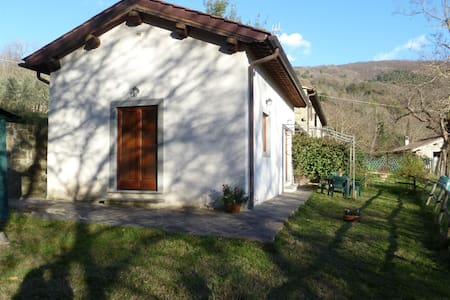 Eco-friendly portion of farmhouse - Santa Brigida, Pontassieve (Florence) - Talo