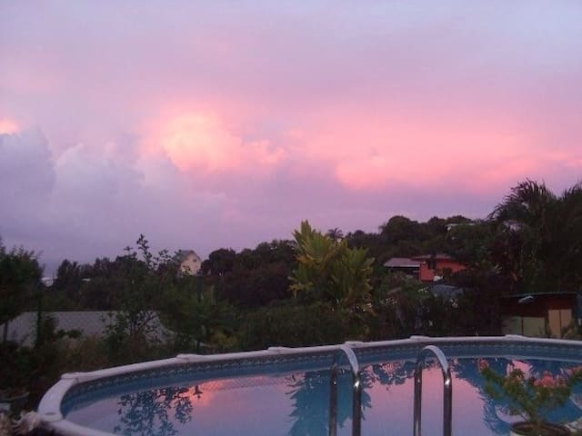 suite villa in papeete,guestroom - Papeete - Talo