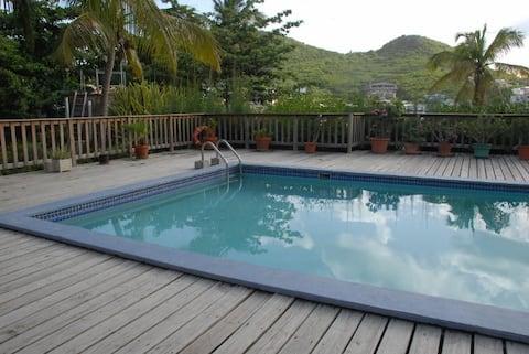 Comoditat de l'estudi amb piscina Unitat #2