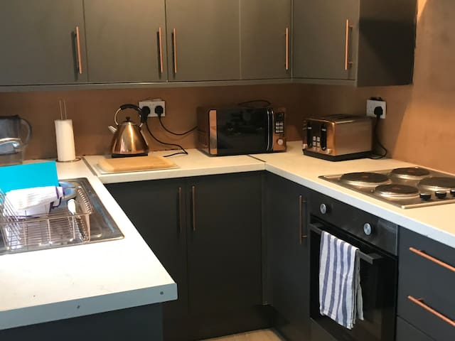 Brand new kitchen fully equipped
