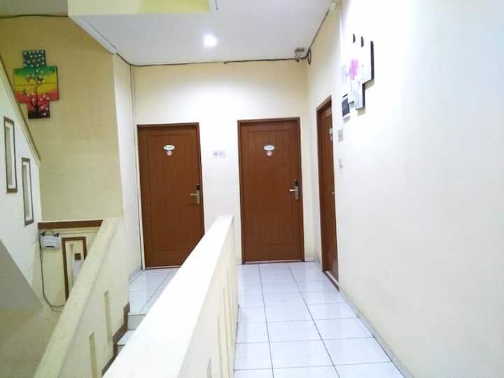 His apartment