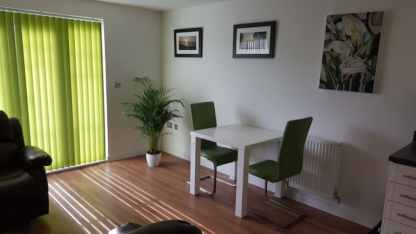 1 Bed modern Apartment in private residential area
