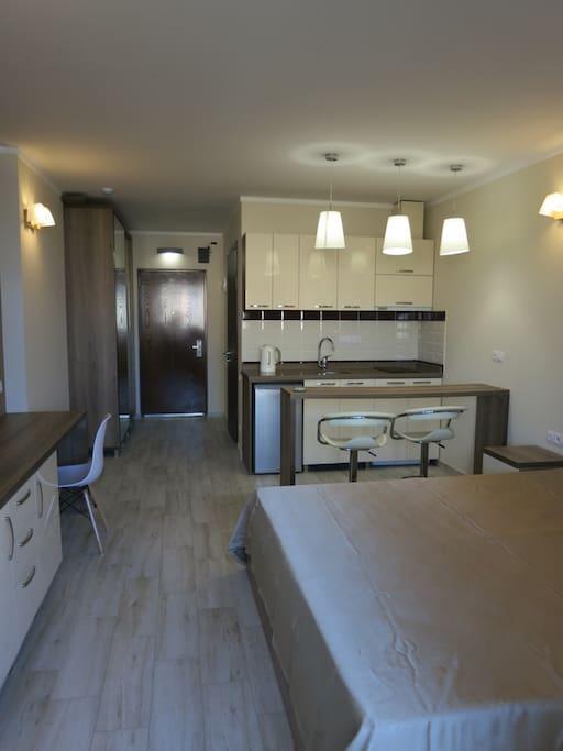 Общий вид апартаментов