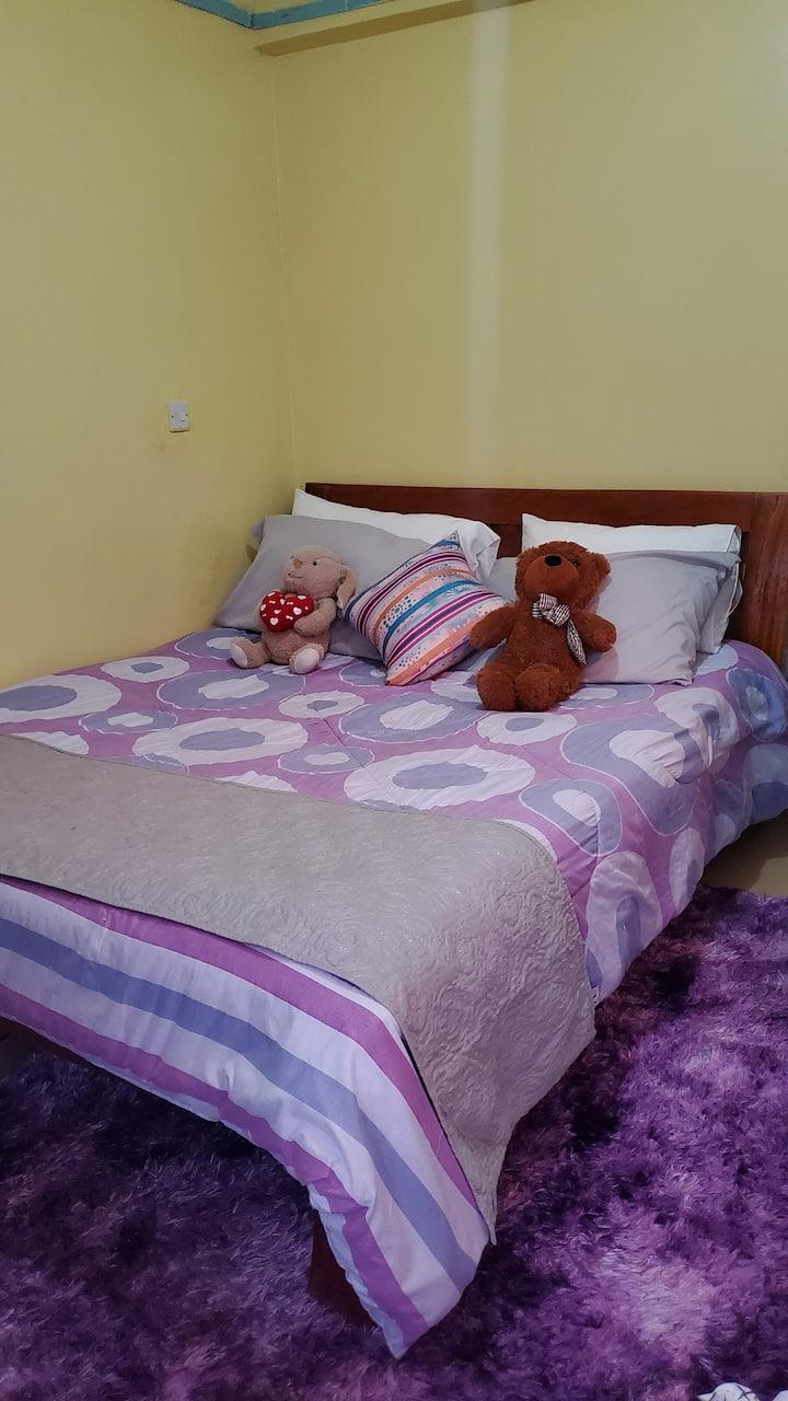 Purple Crib