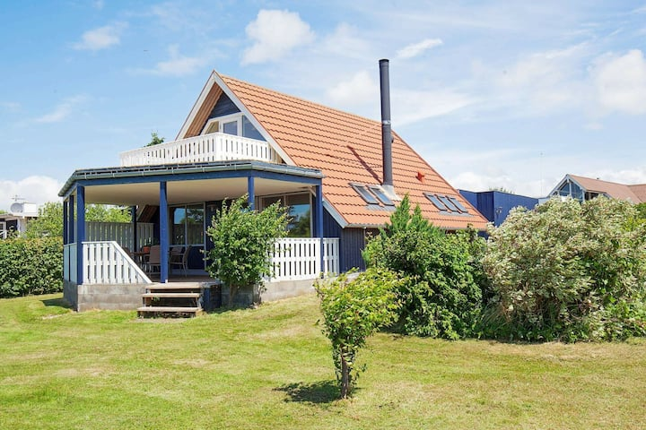 Modern Holiday Home With Roofed Terrace in Slagelse